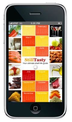 Still Tasty app on iOS