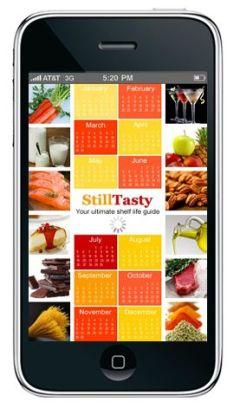 Still Tasty app on iOS