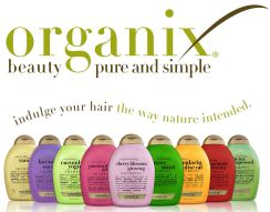 Organix: A hair-care brand. Most of their products aren't organic.
